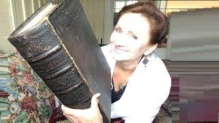 Старинная семейная Библия. Расслабляющее АСМР (ASMR) видео перед сном.