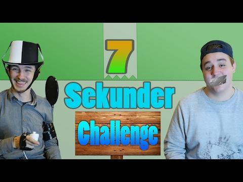 DET HER GØR VI ALDRIG IGEN! | 7 Second Challenge Med Gaffatape - FT. R&C