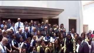 زيارة وفد من مصر للطيران لقناة السويس الجديدة 12يونيو 2015