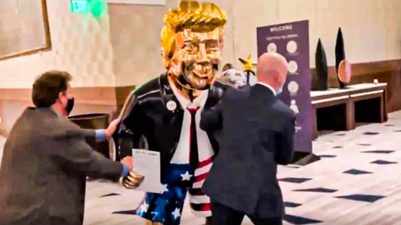 CPAC Will Literally Feature A Golden Statue Of Donald Trump