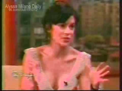 Alyssa Milano on Tony Danza