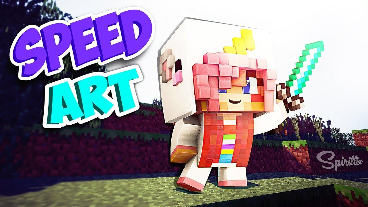 Minecraft wallpaper speed art chibi ldshadowlady 19 youtube - Ldshadowlady wallpapers ...
