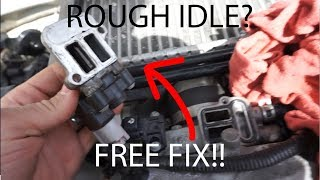 HOW TO FIX A BAD IDLE (IACV)