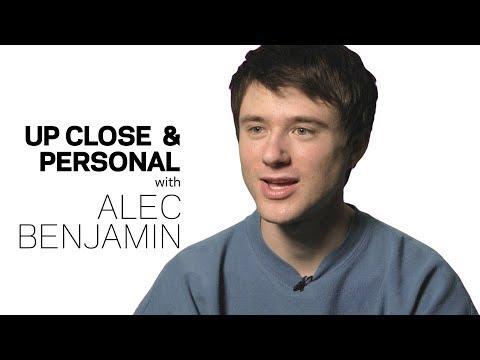 Alec Benjamin Talks Pursuing Music Dreams & Collaborating with Alessia Cara | Up Close & Personal