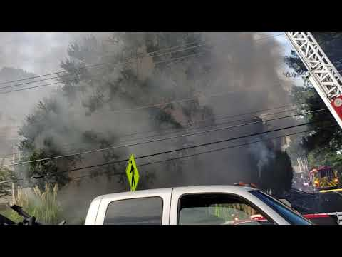 Buford Highway apt fire