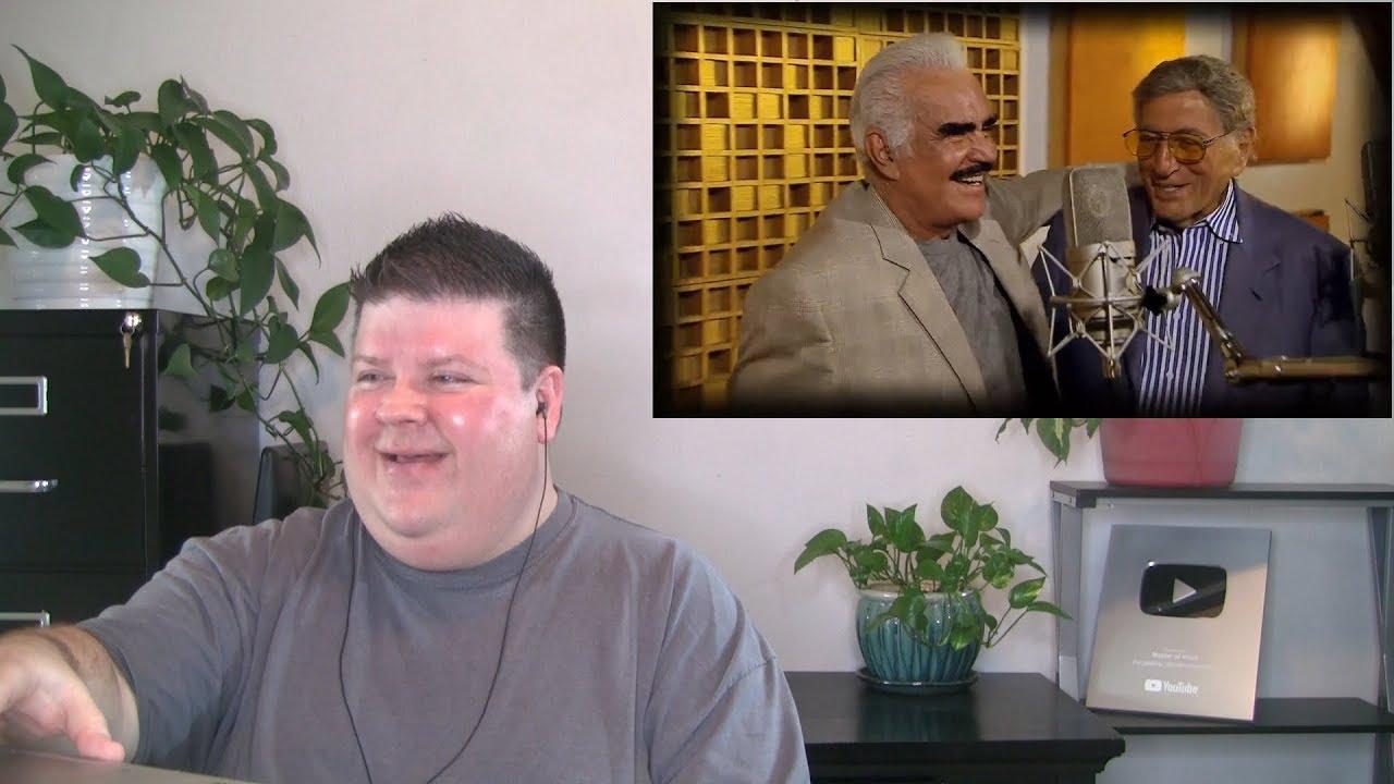 Voice Teacher Reacts to Tony Bennett & Vicente Fernández - Return To Me (Regresa a Mí)