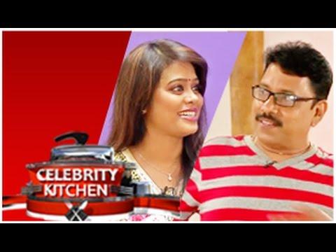 Actor Sukran & Actress Devi Priya in Celebrity Kitchen (08/02/2015)