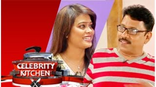 Actor Sukran & Actress Devi Priya in Celebrity Kitchen (08/02/2015)