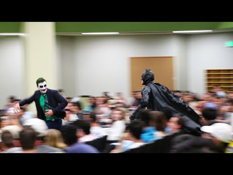 BATMAN CLASS PRANK (The University of Texas)