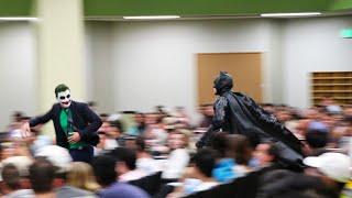 BATMAN CLASS PRANK (The University of Texas)