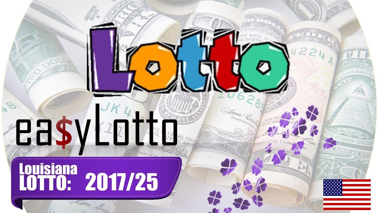 LOUISIANA Lottery winning numbers March 29 2017 🍀 - YouTube