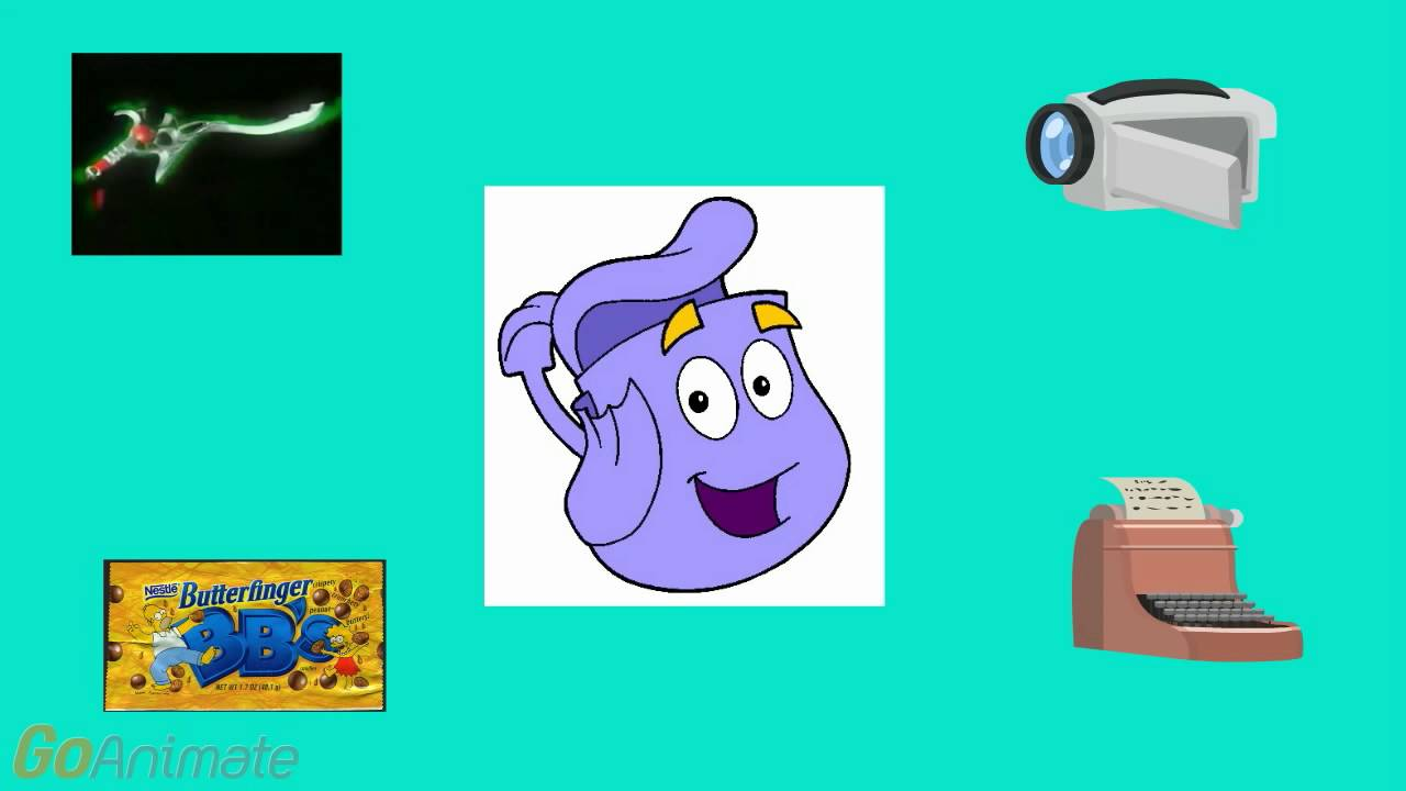 Map And Backpack Scene - YouTube Dora Backpack With Map on
