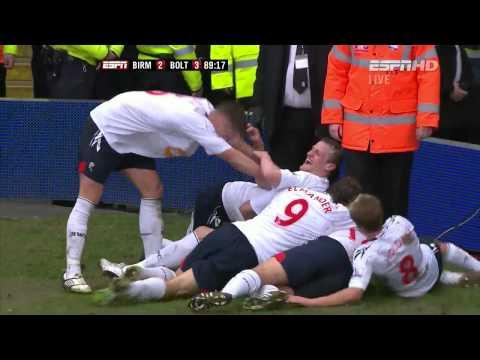 2010/11 FA CUP  Bolton vs Birmingham Wemb-Lee Goal