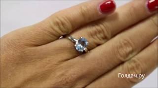 Кольцо с топазом z7338403