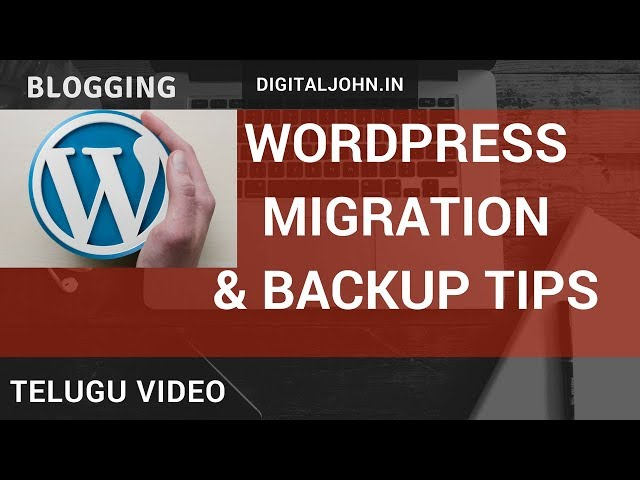 How to Migrate Your WordPress? || Digital Badi