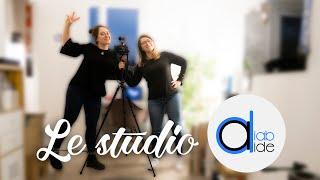 Le (nouveau) studio DIAB'AIDE !