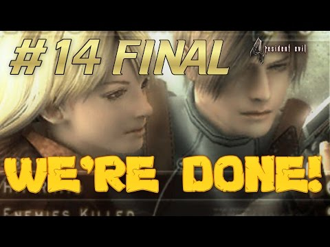 MISSION COMPLETE! BMonkey Plays [RESIDENT EVIL 4] #14 FINAL
