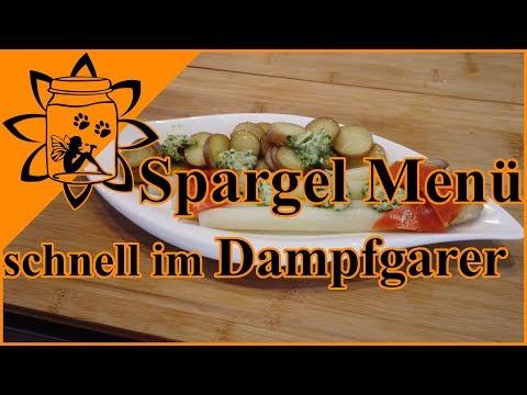 spargel-mit-kartoffeln-im-dampfgarer-|-rezept-spargel-menü-schnell-kochen-|-garteneinkochfee