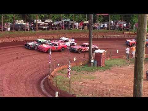 Winder Barrow Speedway Stock Eight Cylinders Feature Race 5/25/19