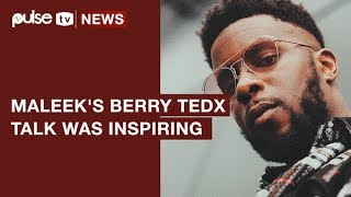 Maleek Berry TEDx Tak at Peckham, Finding Truth In My Roots,  Was Inpiring | Pulse TV News