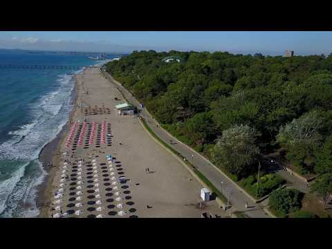 Above the beach in Burgas with a DJI mavic Pro, very first fly