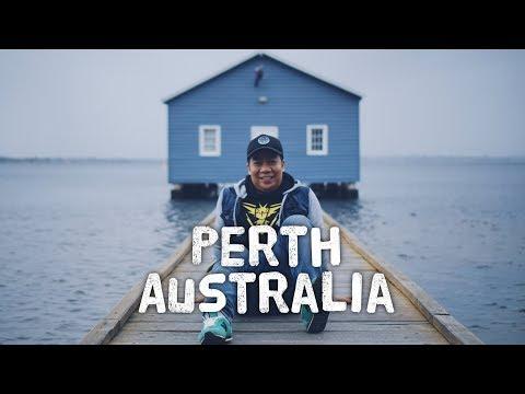 PERTH TRAVEL VLOG PART 1   PERTH AUSTRALIA