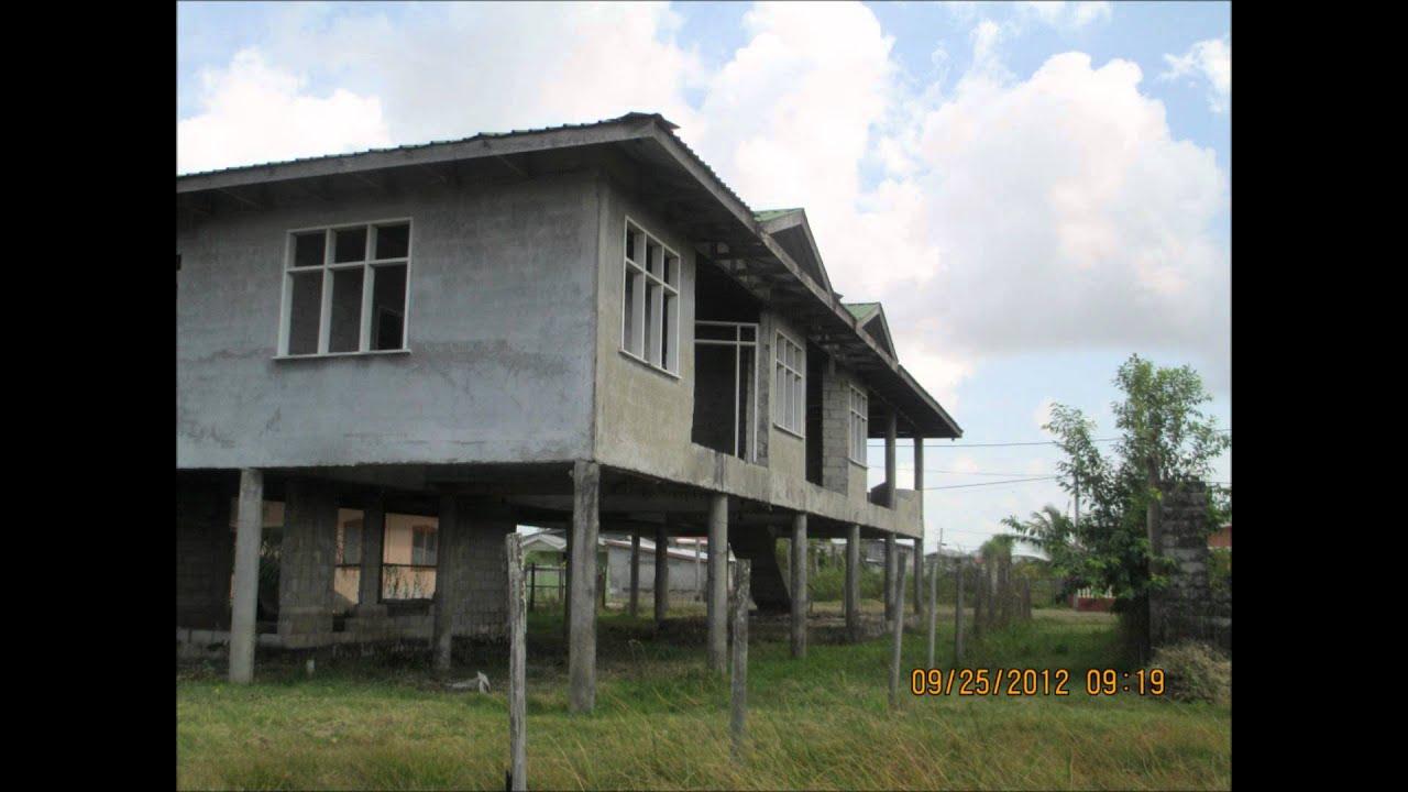 Bank Of America Floor Plan House Amp Land For Sale Paradise East Coast Demerara