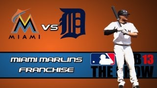 MLB 13 The Show Franchise Mode: Miami Marlins - Facing Some Former Marlins [Y1G162 EP9]