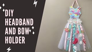 How to make headband and bow holder