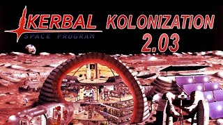 Kerbal Space Program - Kolonization in 1.1 03 - Kerbal on the Mun