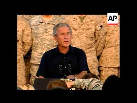 Bush makes surprise visit to Iraq Mp3