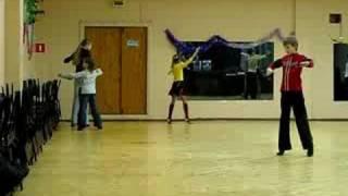 Танцы, на тренировке, медленный вальс, Февраль 2008г.