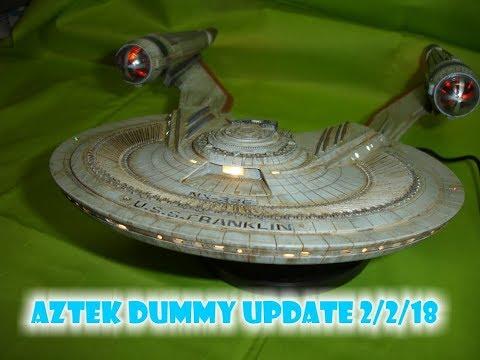 Aztek Dummy Update 2/2/18 - Franklin Finale