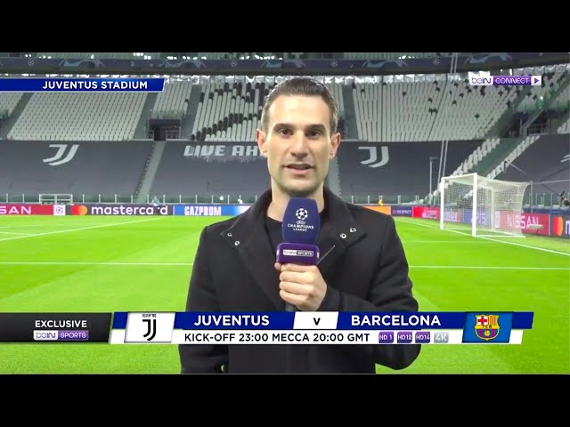 beIN Sports (UCL Pitchside: Juventus-Barcelona)