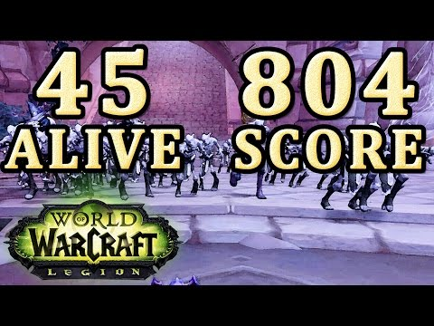Withered Army Training 804 score 45 alive