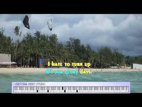 ADELE  -  SOMEONE LIKE YOU SING ALONG & PIANO KARAOKE   feat  Boracay Philippines