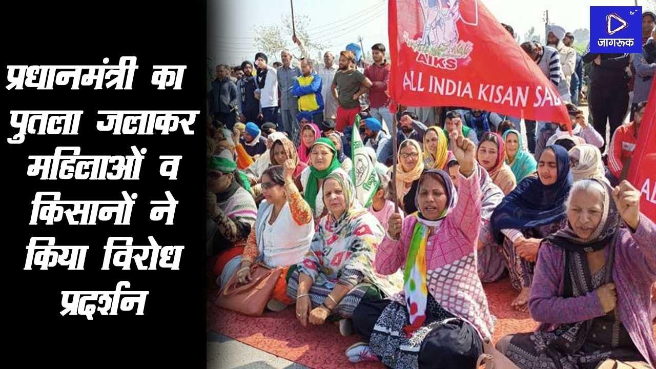 Sumerpur pali : Congress नेता व किसानों ने किया चक्का जाम, महिलाओं ने किया विरोध प्रदर्शन |