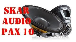 Обзор широкополосных эстрадных динамиков SKAR AUDIO PAX 10. Автозвук своими руками