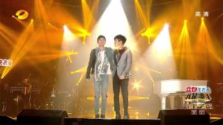 Repeat youtube video 我是歌手-第二季-第13期-张杰&林俊杰《最美的太阳》-【湖南卫视官方版1080P】20140404