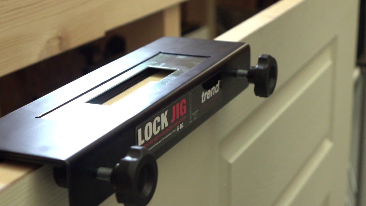 Trend LOCK//JIG Mortise and Face Plate Lock Jig