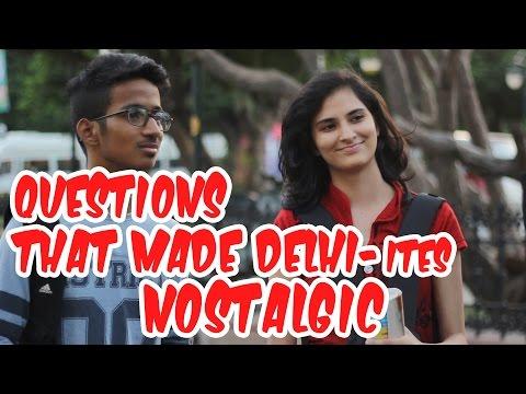 Questions That Made Delhi-ites  Nostalgic
