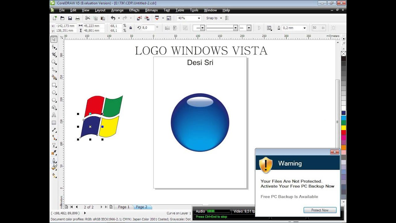 dot com windows vista