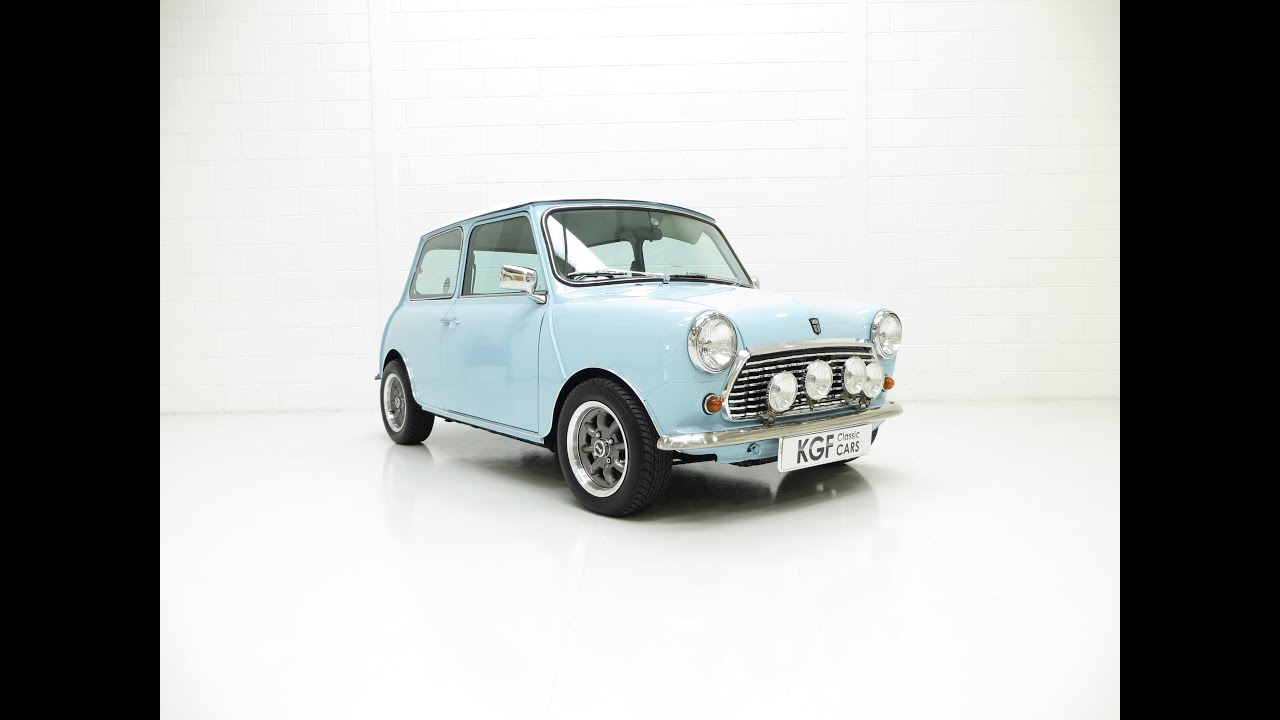A One Off Creation Austin Mini Cooper Replica Known As Baby Blue Sold You