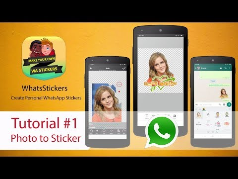 WhatsStickers App Tutorial #1 | Photo to Sticker Maker for Whatsapp