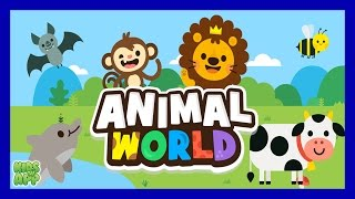 Animal World - Animal Sounds For Kids (Papumba) - Best App For Kids