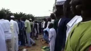 Tabaski 2012 abidjan riviera arrivée de l'iman