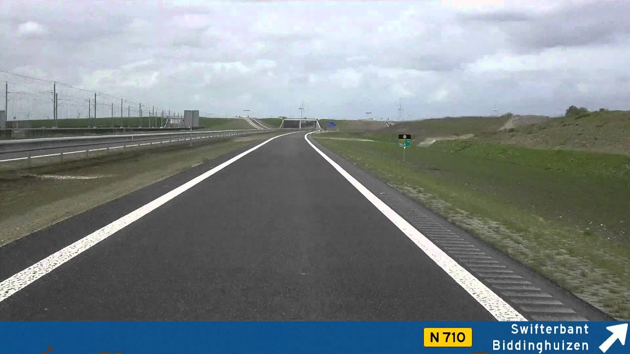 N307 Dronten - Lelystad NL - YouTube