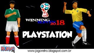 Winning Eleven 2018 (WE2002 Patch) no Playstation 1 / PS1