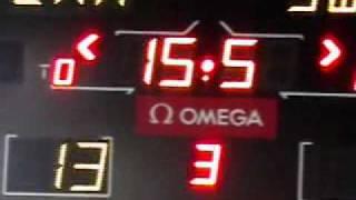 女子アイスホッケー カナダVSスウェーデン 試合終了