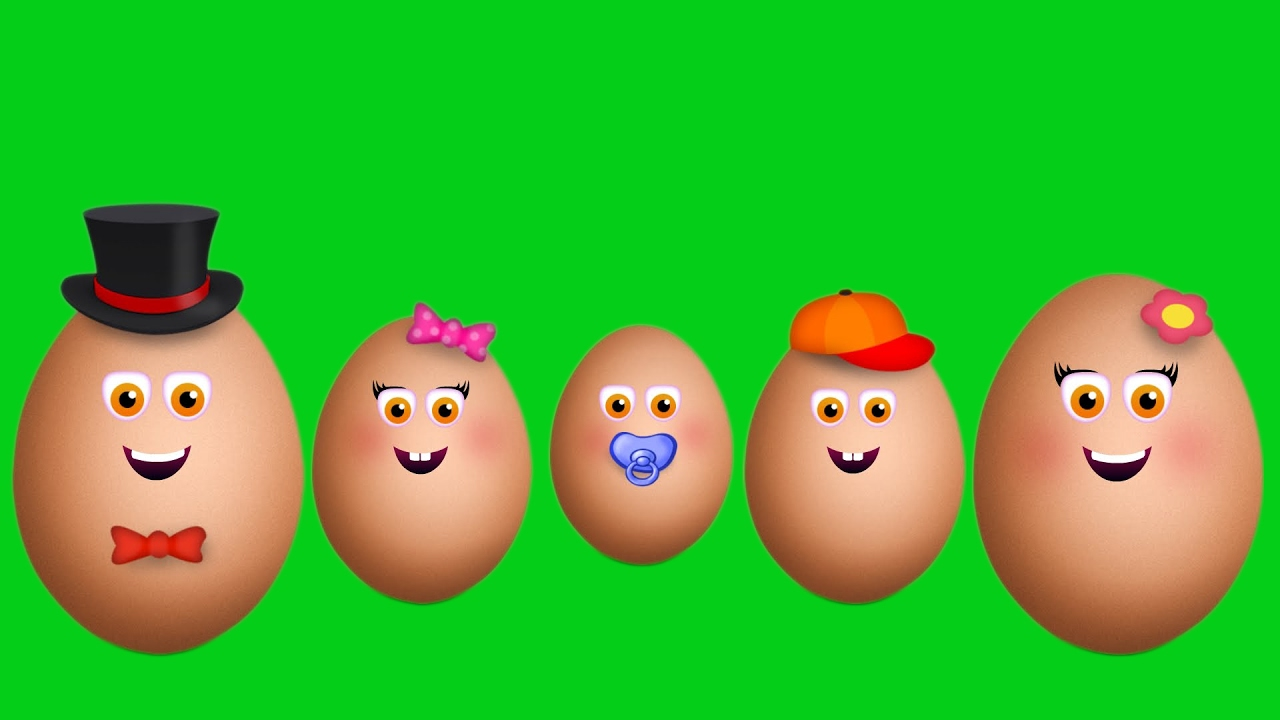 Egg Finger Family Collection Finger Family Songs
